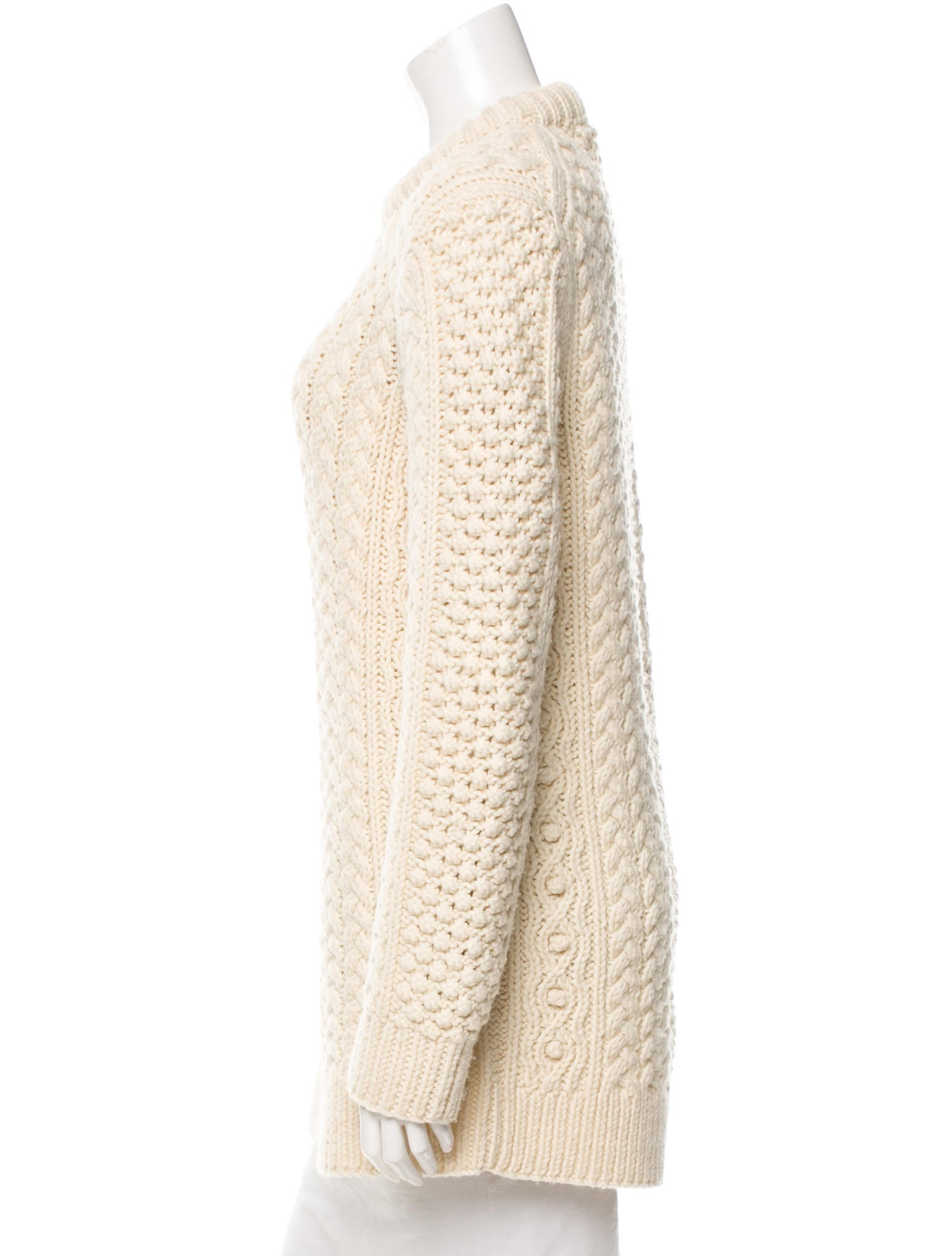 Knitting Organizer Michaels : Michael kors cable knit wool sweater clothing mic