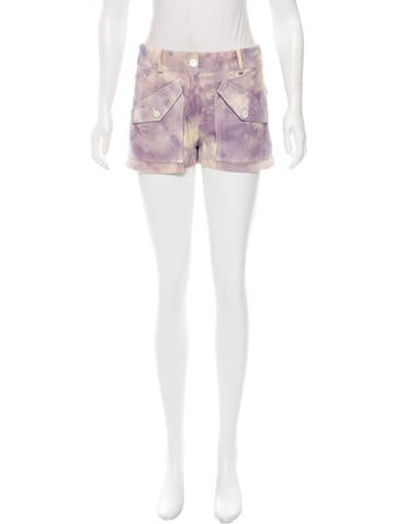 Tie-Dye Cargo Shorts