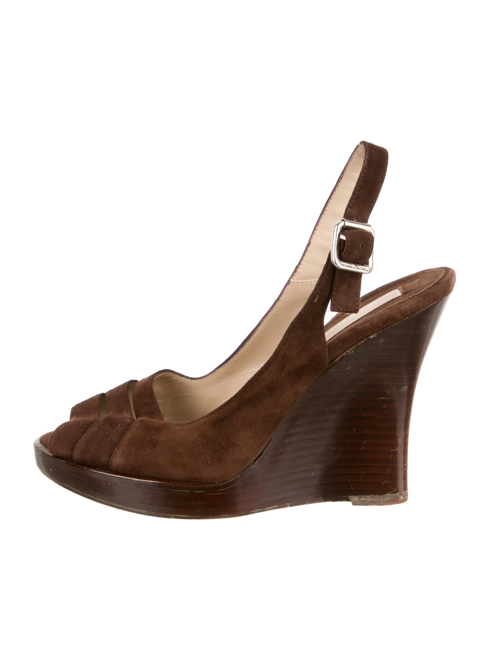 michael kors suede wedge sandals shoes mic37432 the