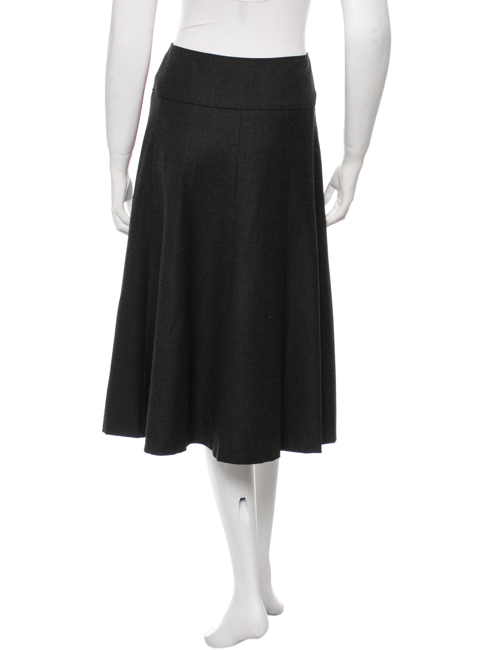 michael kors wool pleated skirt clothing mic38416