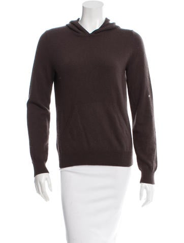 Michael Kors Hooded Cashmere Sweater None