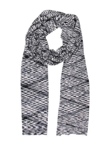 Michael Kors Patterned Knit Scarf w/ Tags None