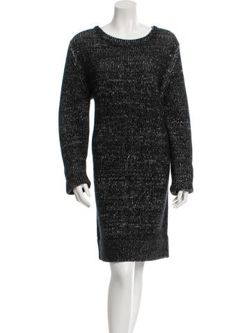 Michael Kors Cashmere & Wool Midi Dress w/ Tags None