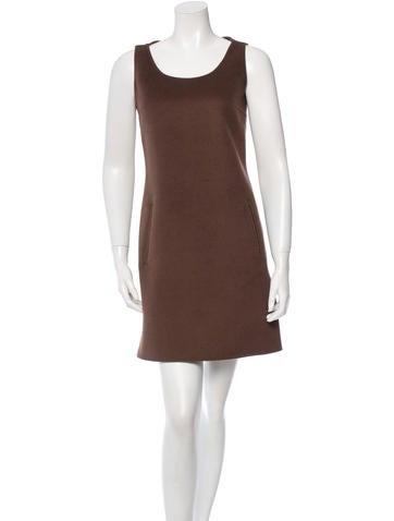 Michael Kors Wool & Angora-Blend Shift Dress