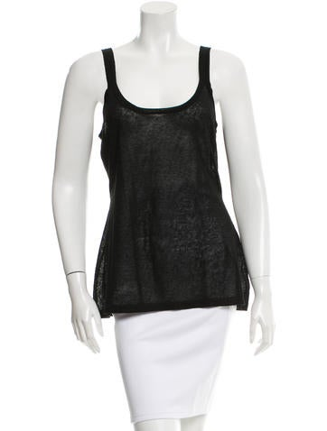 Michael Kors Knit Sleeveless Top None