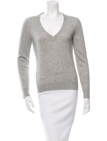 Michael Kors Cutout V-Neck Sweater None