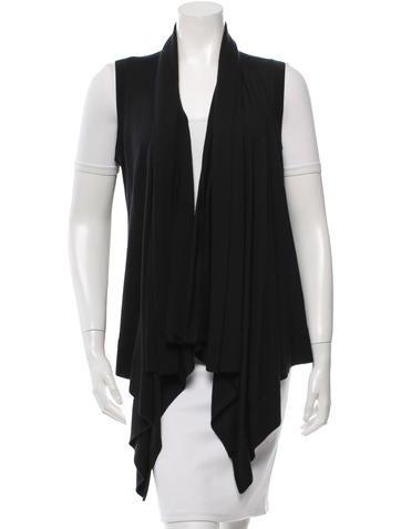 Michael Kors Cashmere & Silk-Blend Vest None