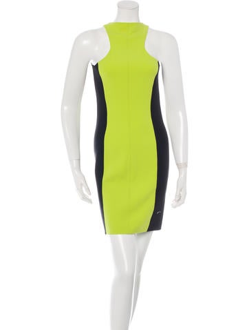 Michael Kors Sleeveless Racerback Dress