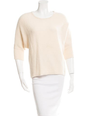Michael Kors Knit Three-Quarter Sleeve Sweater None