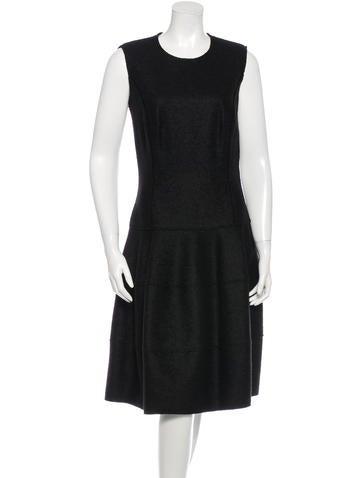 Michael Kors Sleeveless Wool Dress None
