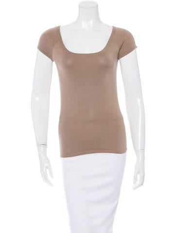 Michael Kors Silk Knit Top None