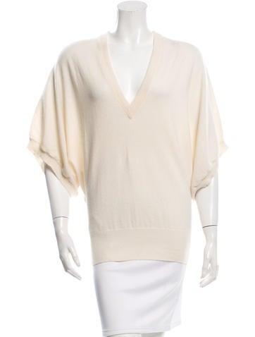 Michael Kors Cashmere V-Neck Sweater None