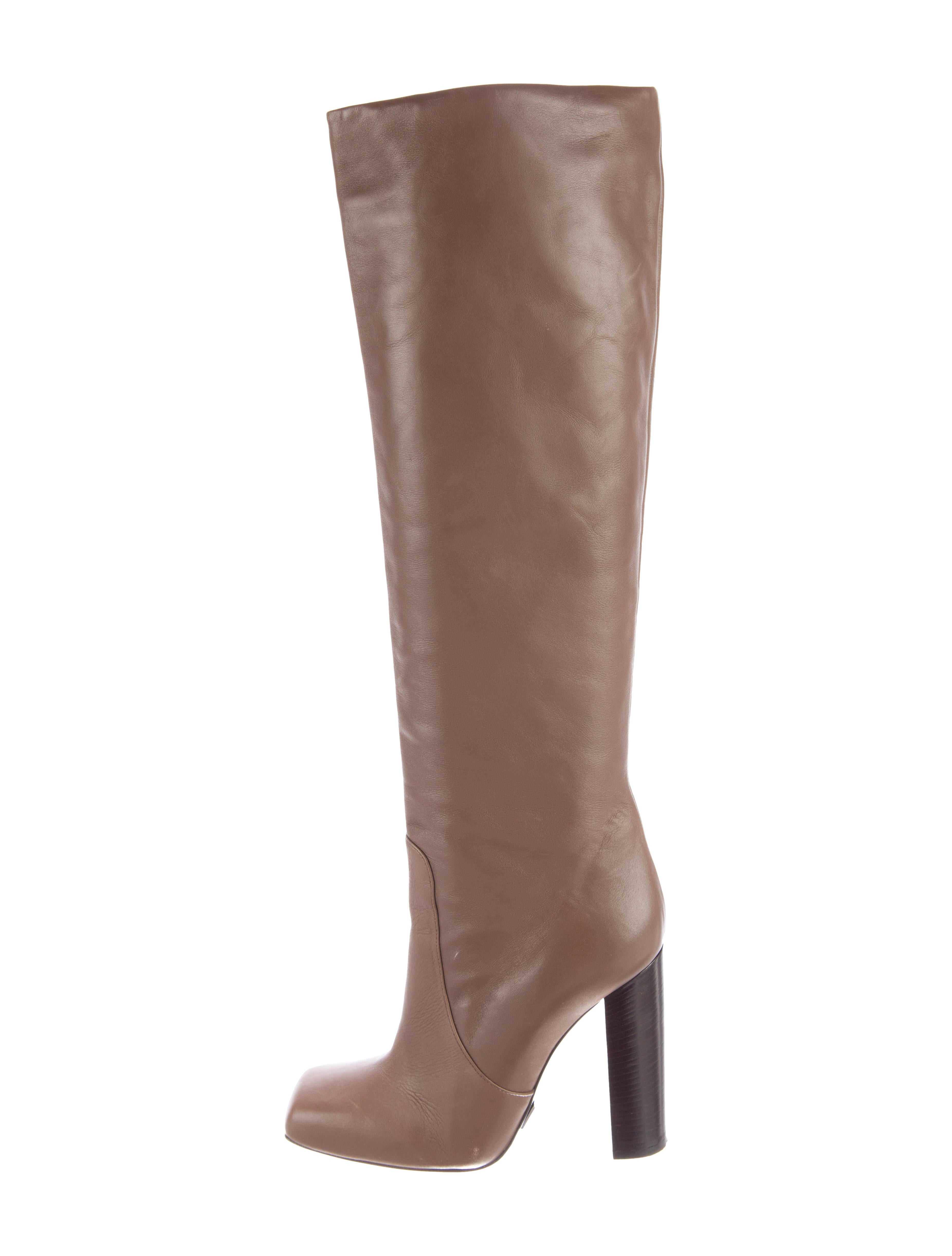 michael kors leather square toe boots shoes mic41887
