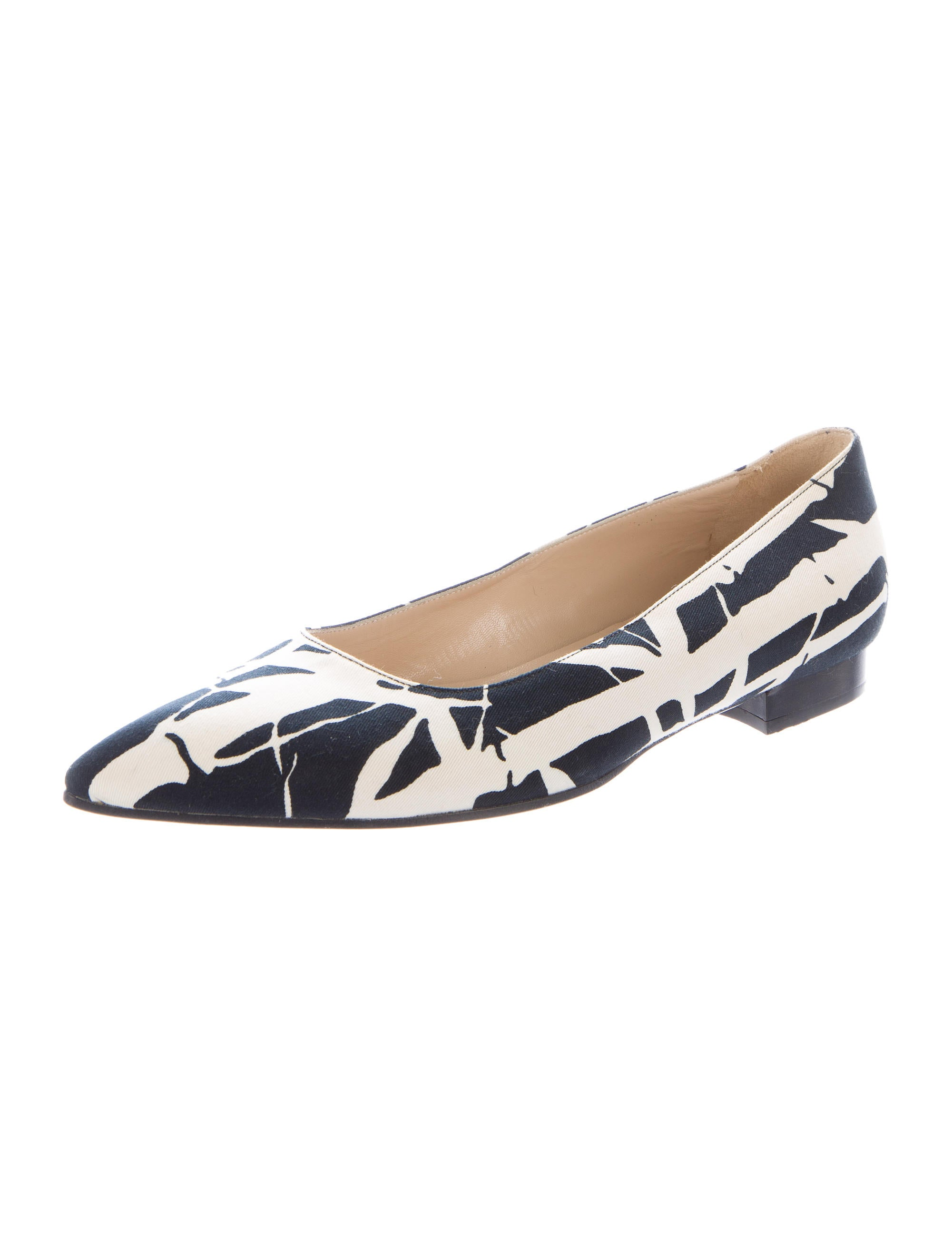 michael kors printed canvas flats shoes mic41988 the