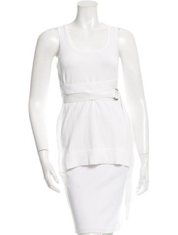 Michael Kors Sleeveless Knit Top None