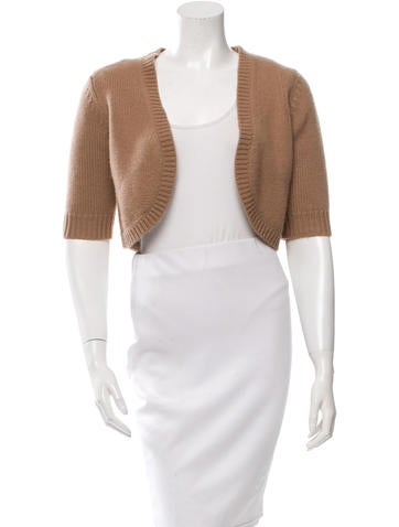 Michael Kors Cashmere Knit Bolero None
