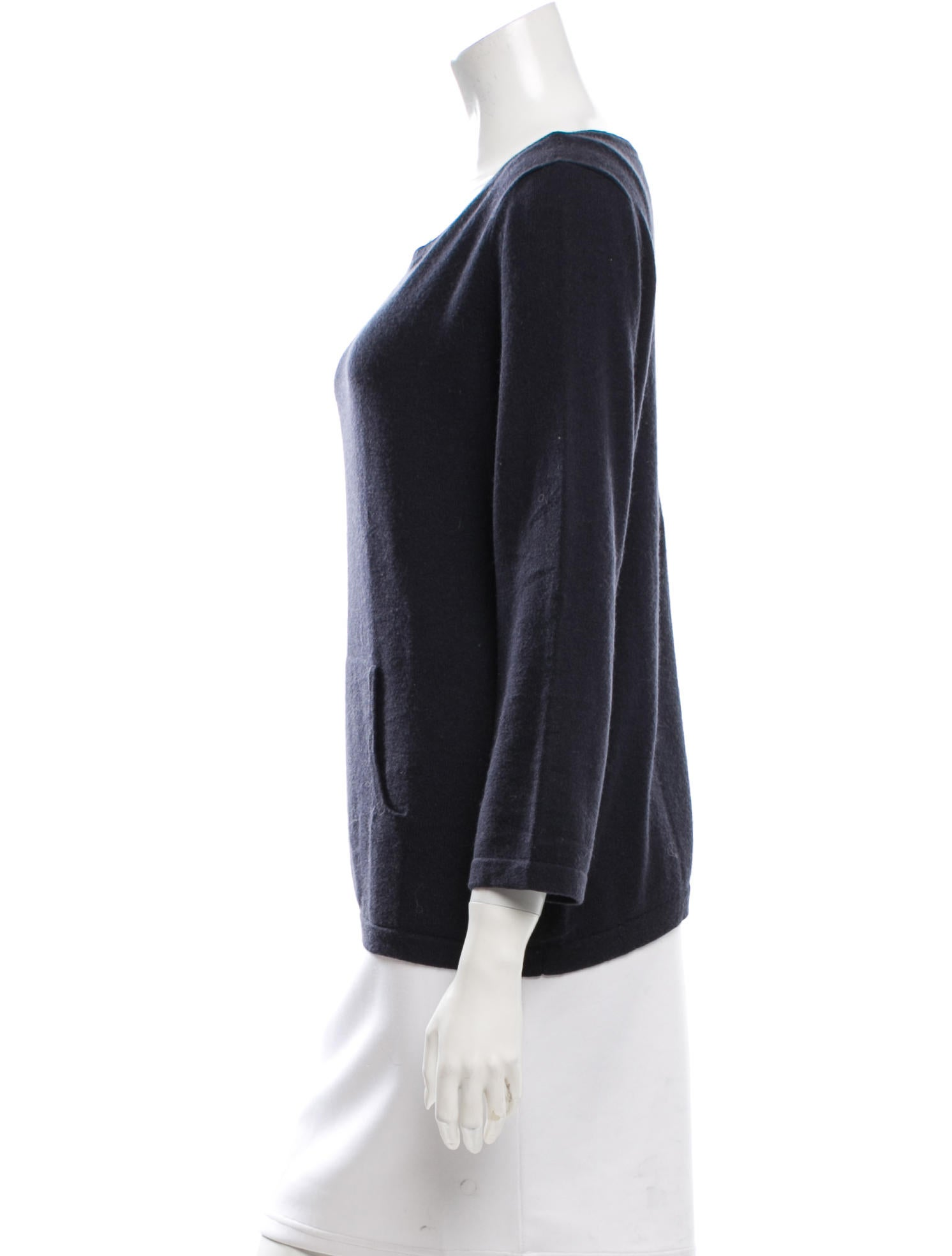 michael kors cashmere pullover sweater clothing mic42307 the realreal. Black Bedroom Furniture Sets. Home Design Ideas