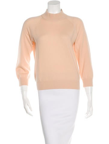 Michael Kors Cashmere Three-Quarter Sleeve Sweater None