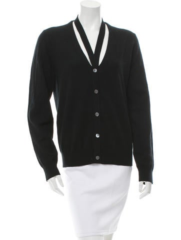 Michael Kors Cashmere Button-Front Cardigan w/ Tags None