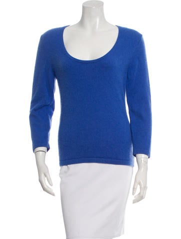 Michael Kors Three-Quarter Sleeve Knit Top None