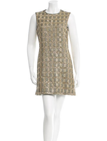 Michael Kors Embellished Shift Dress None