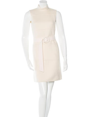 Michael Kors Cashmere & Angora Blend Dress