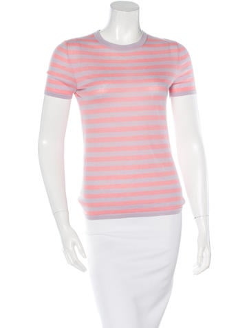 Michael Kors Striped Short Sleeve T-Shirt None