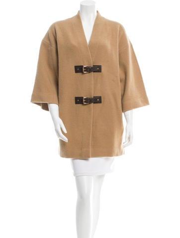 Michael Kors Oversize Wool Cardigan