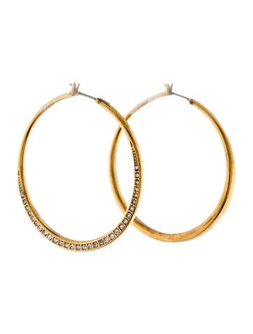 michael hoop earrings michael kors hoop earrings earrings mic43709 6784