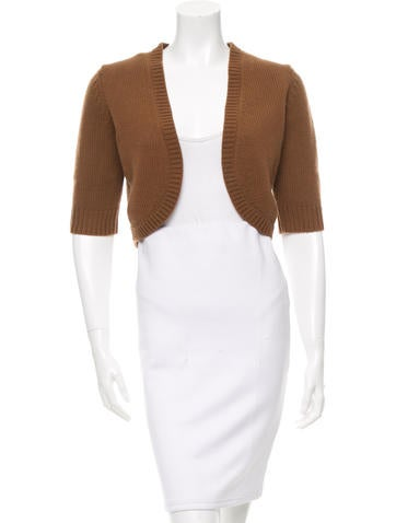 Michael Kors Cashmere Open-Front Shrug w/ Tags None