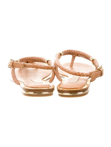 Snakeskin Hartley Sandals