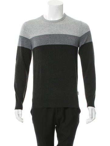 Michael Kors Colorblock Crew Neck Sweater None