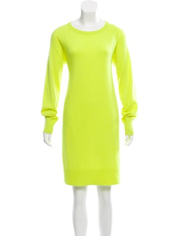 Michael Kors Long Sleeve Sweater Dress None