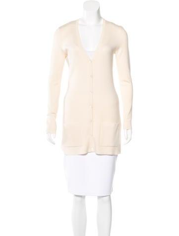 Michael Kors Cashmere Button-Up Cardigan None