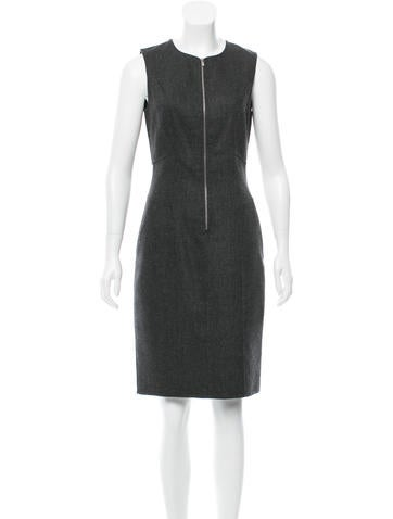 Michael Kors Wool Knee-Length Dress