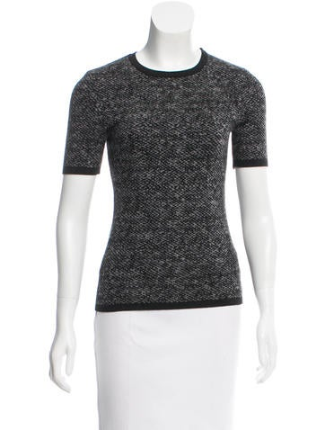 Michael Kors Printed Wool Top None