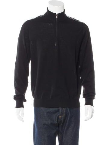 Michael Kors Wool Zip Sweater None