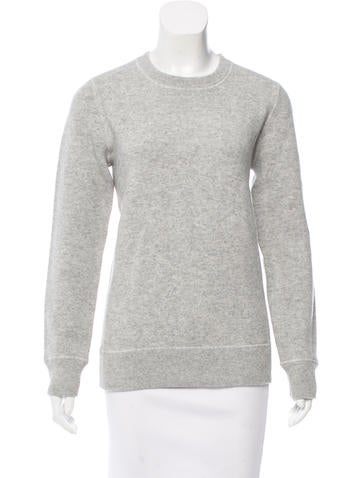 Michael Kors Cashmere-Blend Crew Neck Sweatshirt w/ Tags None