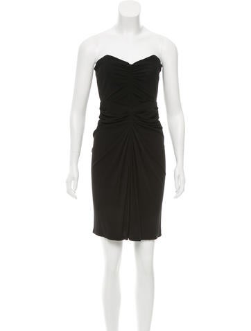 Michael Kors Ruched Mini Dress