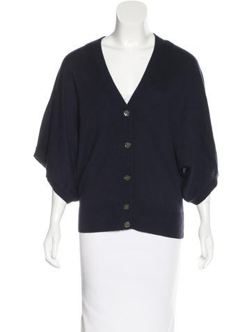 Michael Kors Cashmere Short Sleeve Cardigan w/ Tags None