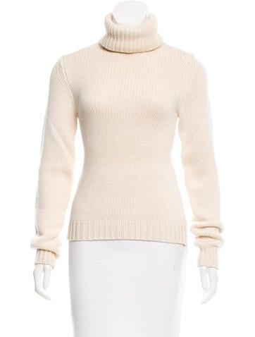 Michael Kors Wool Turtleneck Sweater None