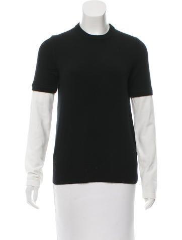 Michael Kors Rib Knit Cashmere Sweater None