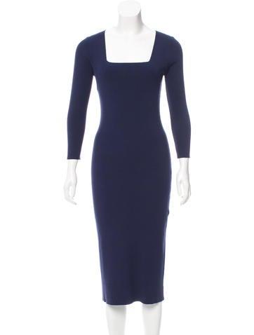 Michael Kors Rib Knit Midi Dress w/ Tags None