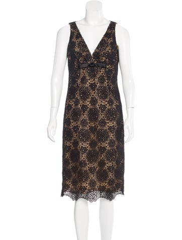 Michael Kors Lace Sleeveless Dress None