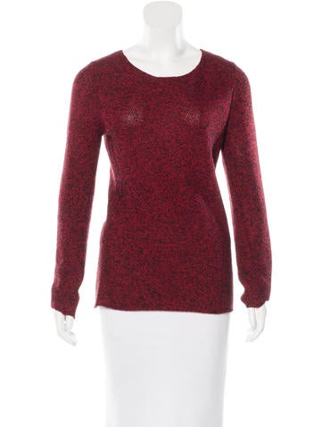 Michael Kors Scoop Neck Cashmere Sweater None