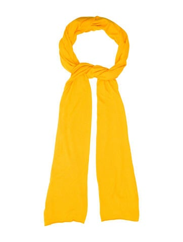 Michael Kors Mustard Knit Scarf w/ Tags None