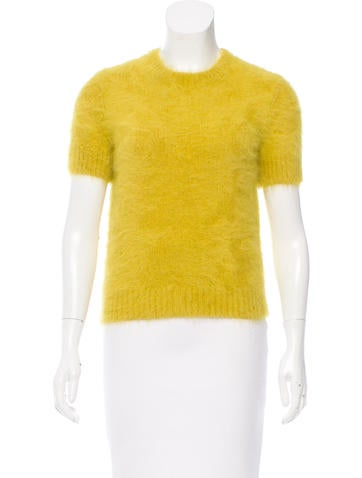 Michael Kors Angora Rib Knit Sweater None