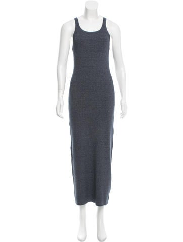 Michael Kors Rib Knit Maxi Dress None
