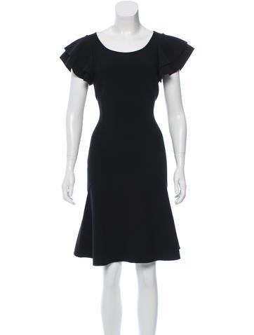 Michael Kors Flutter Wool Dress