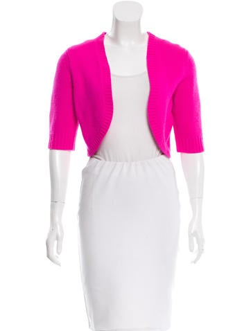 Michael Kors Cashmere Open Front Shrug None
